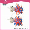 Body jewelry slicone ear studs