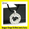 Stainless Steel Pendant Necklace Accessories,Twelve Signs Titanium Steel Pendant Which Can Turn