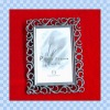flowers and plants metal photo frame