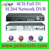 4CH Full D1 Digital Video Recorder Real-time DVR