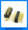 double row pin header round 2.0mm/2.54mm