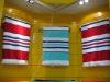 100% cotton strip beach towel
