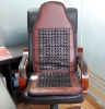 Germanium electric-Heating Massage Seat Cushion