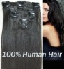 Magic Madam hair,10pcs clip on remy human hair,