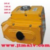 24V, 110V, 220V, 380V motorized valve actuator
