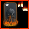 The most fashionable Ghost Rider Silicone case for iphone 4G/4S(SI10)