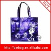 2012 fashion flaser laminated non woven tote shopping bag