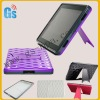 For Amazon Kindle Fire Folding Stand Hard Case Voilet