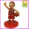 most popular 3d plastic japanese anime slam dunk character figure,football player sport figurines