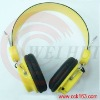 Mp3 insert cards headset earphone Support 32GB TF card