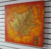 Gloden Leaf in Autumn Season Prints on Canvas