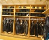 fashion jeans display cabinet/supply display showcase