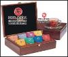 Varnish Finish Wooden Gift Box for tea/coffee