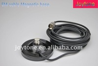 Magnetic base for car radio antenna (RG-58/U)