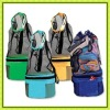 Outdoor Cooler bag with mesh pocket on top