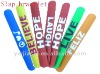 Colorful Silicone Slap Bracelet for wholesale