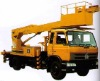 Telescopic Common Aerial Working Platform Truck