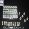 Ivory Dominoes In Wooden Case