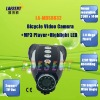 Bicycle Video Camera MP3 Player Highlight LED support SD Card All MP3 Music 5.0 Mega Pixele Bike Video Cam MDS6832