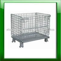 Folding wire container with high quality