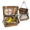 Nice willow picnic basket