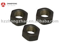 Hex black nuts
