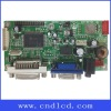PC monitor board support VGA/DVI