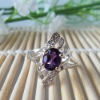 Jewelry Factory Silver Gemstone Ring(j0507215agz)