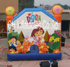NEW Design 4m by 4m Inflatable Dora Bounce House
