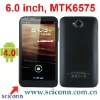 6 inch screen android 4.0 os MTK6575 cpu WCDMA 3G smartphone N9880