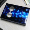 Hologram paper for paper box with Fresnel Lens or Water club pattern