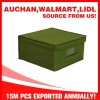 Non-woven Fabric Solid-color Storage Box-Medium