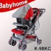 CE certificate baby stroller with carrier and car seat
