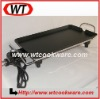 Aluminum nonstick rectangular electric grill pan