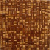 zebra brown bamboo wall tile