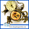 Transparent Sphere With The Hunger Games Pocket Watch Jewelry