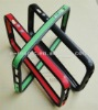 For iPhone 5 bumper with double colors