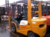 Used original TCM 2.5t forklift, year 2006, 80% new, cheap.
