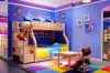 wooden children room furniture