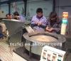 maquinaria para fabricacion manquera riego por goteo con incrustaciones plano por dentro