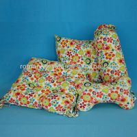 100 Cotton Printed Round Wicker Seat Cushions with PP cotton
