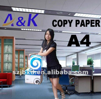 paper A4 for office machine factory selling