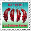 "big 3D brembo brake caliper cover front rear 10.5""and 9.5"" BC-005"