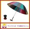 straight rainbow stick umbrella