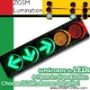 Super Brightness LED Traffic Light Signal 300mm