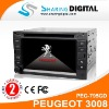 Sharing Digital Multimedia TV Unit with GPS DVD Blue tooth for peugeot 3008(2009-2011)