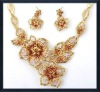 golden jewelry set victorian jewelry sets korean crystal jewelry