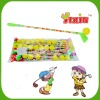 Toy candy (golf ball with dextrose candy)