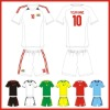 sublimation wholesale football shirt