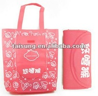 Non-woven Fashion Bag&Transparent Bag with Handle
